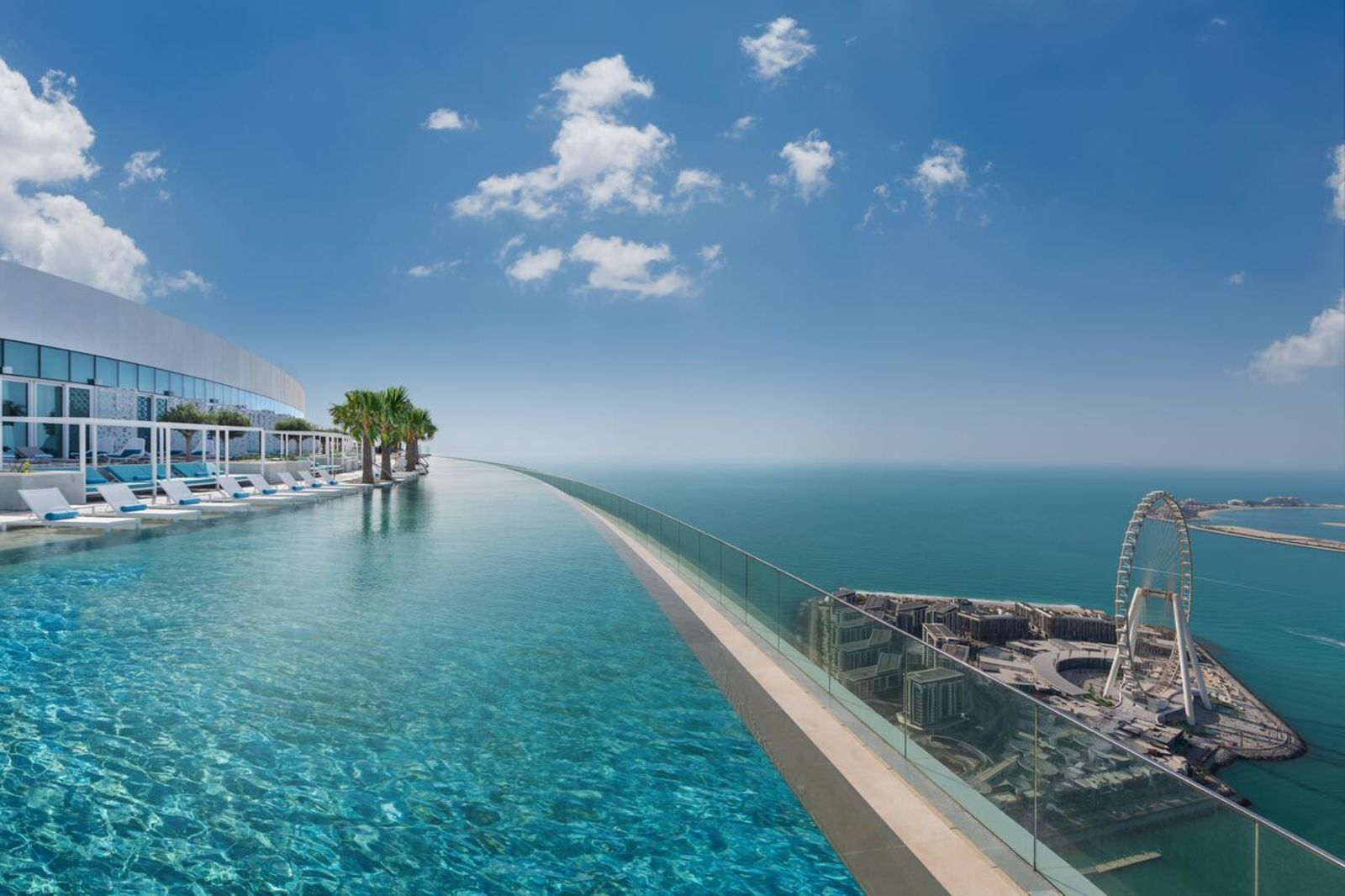 The World's Highest Infinity Pool
