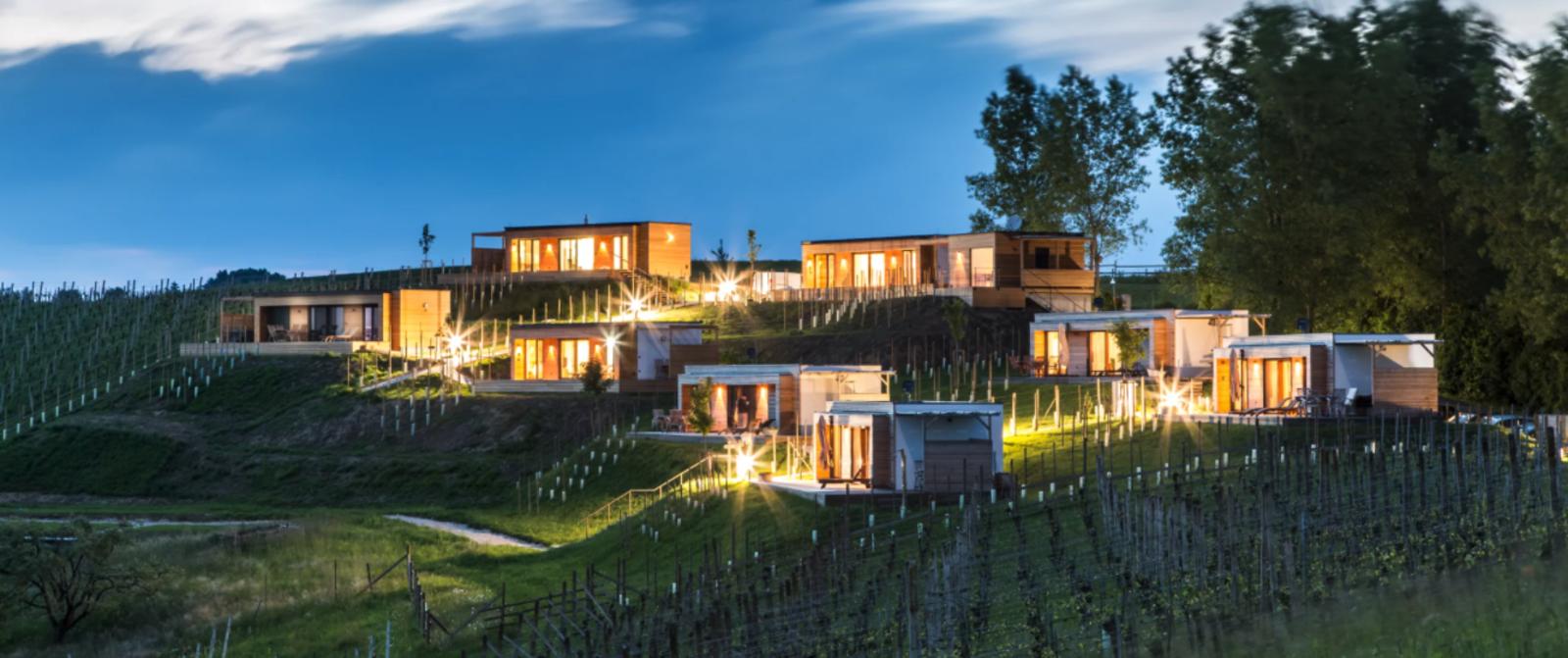 Austria, Styria, Weingarten-Resort Unterlamm