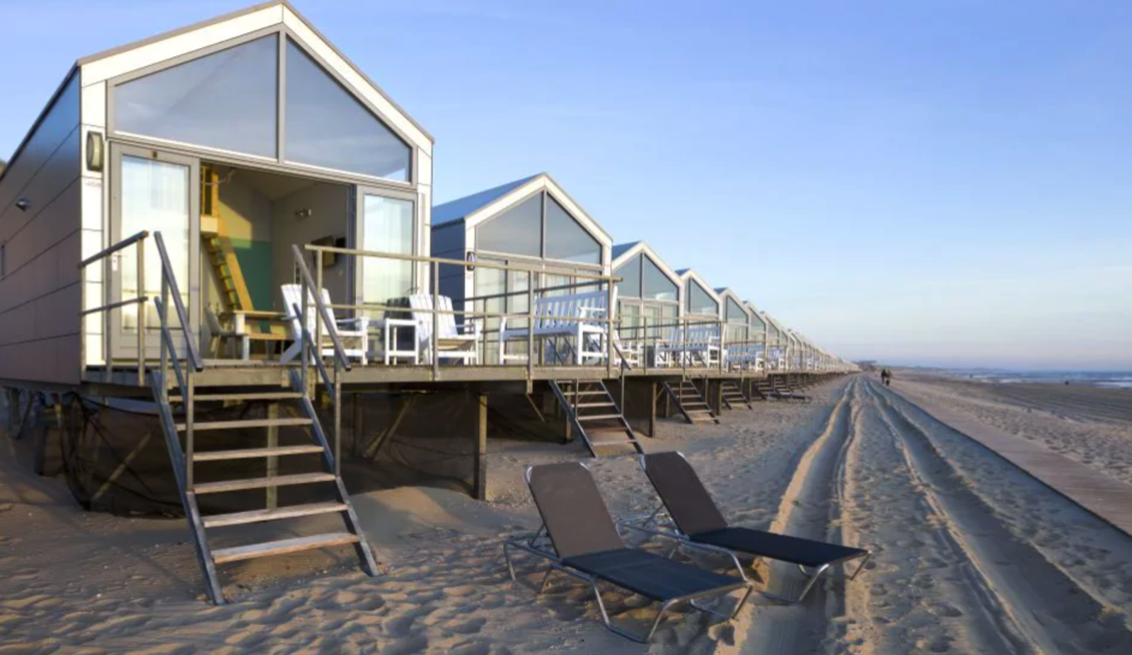 Noord-Holland, Roompot, Strandhuisjes Julianadorp