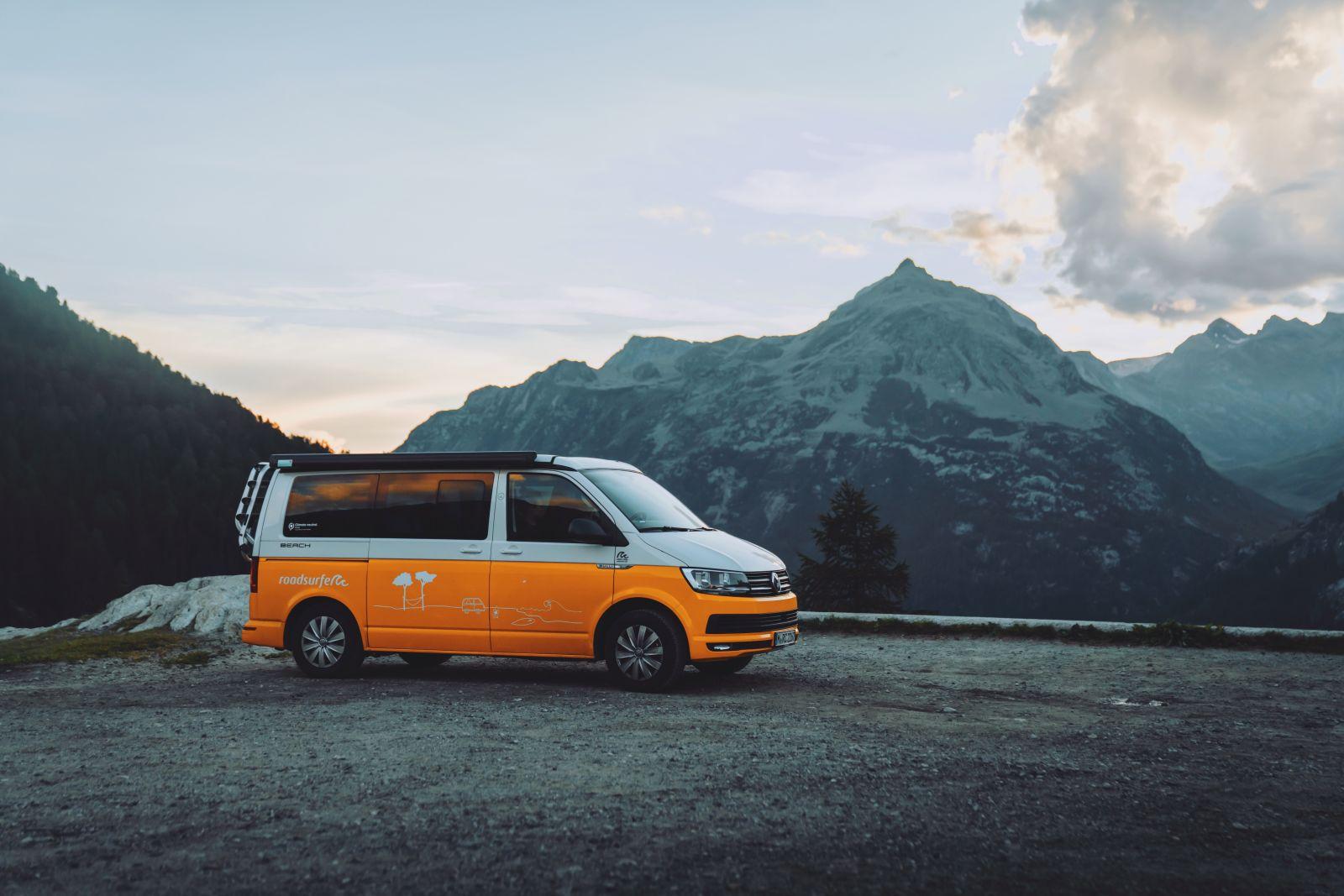 Camper, Roadsurfer, Swizerland