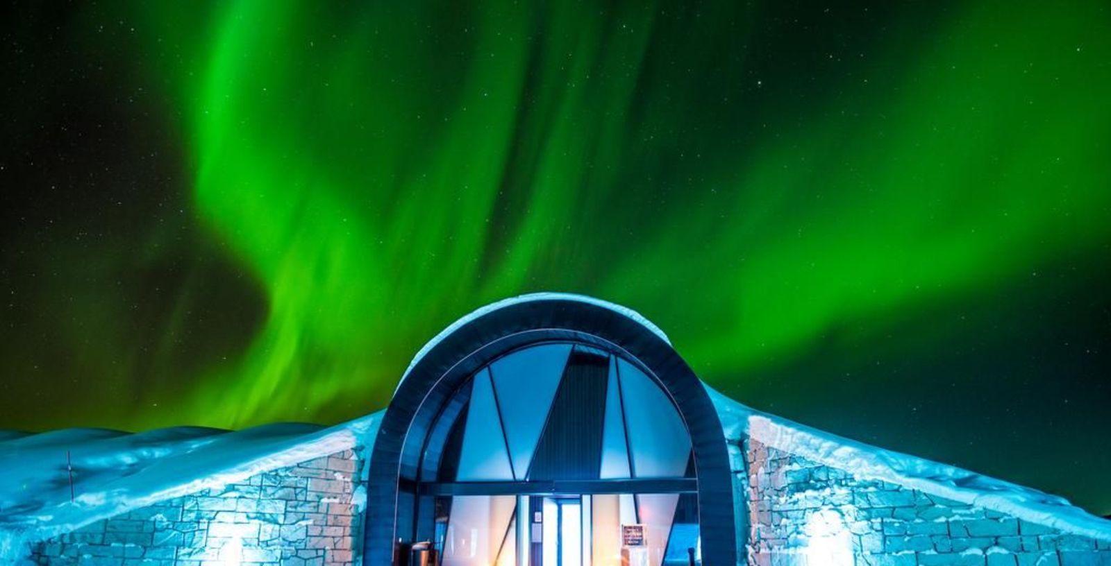 Ice hotel, Voyage Privé
