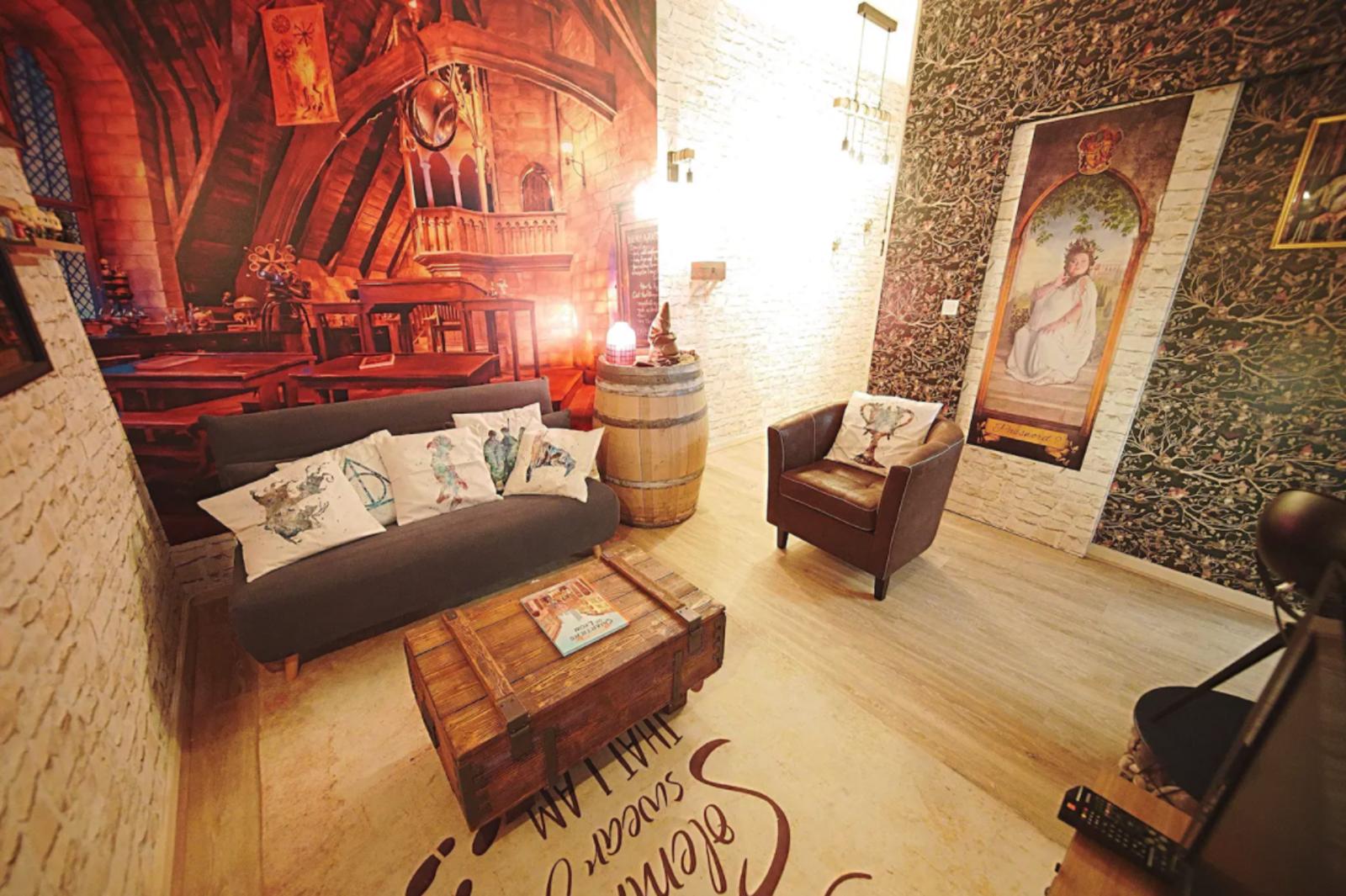France, Harry Potter, Harry Potter Airbnb Lyon