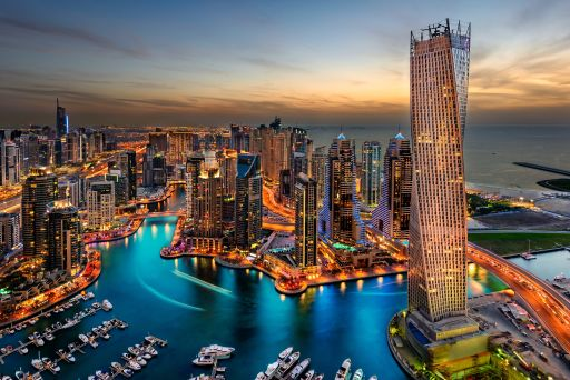 356 Meter über Dubai