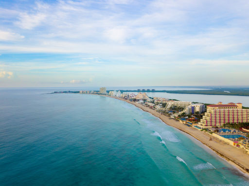 Fly to Cancun, Mexico