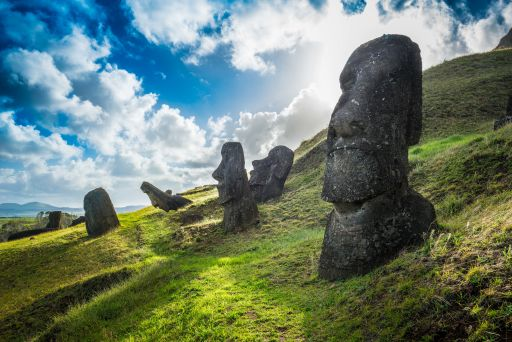 Het mysterieuze Paaseiland