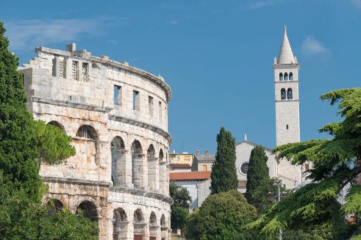 Sierpień na chorwackiej Istrii