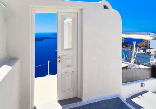 Santorini Flüge im Sommer