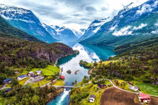 Herfstige roadtrip door Noorwegen!