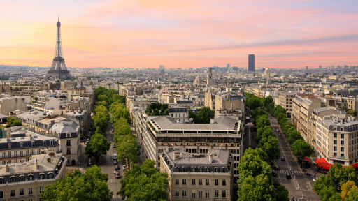 Fly to Paris, France