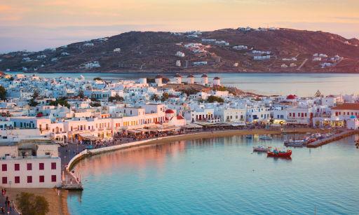 Vols A/R vers Mykonos à petit prix