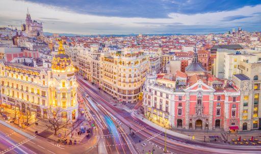 Nonstop Flights to Madrid