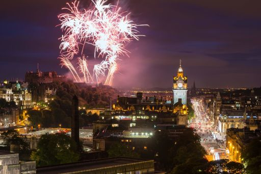 Award-winning Edinburgh hotel stays on New Year's Eve