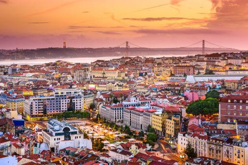 Spotgoedkope vluchten naar Lissabon