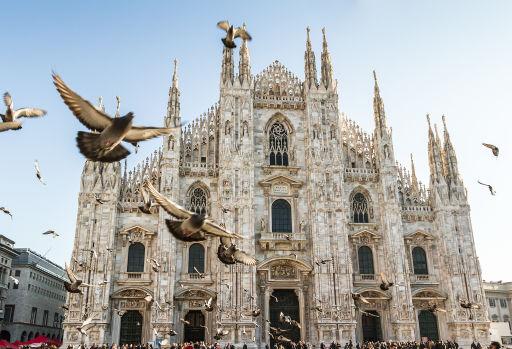 Goedkoop naar Milaan