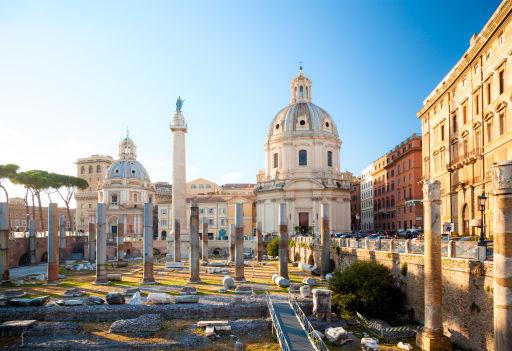 Ongelofelijk goedkoop naar Rome
