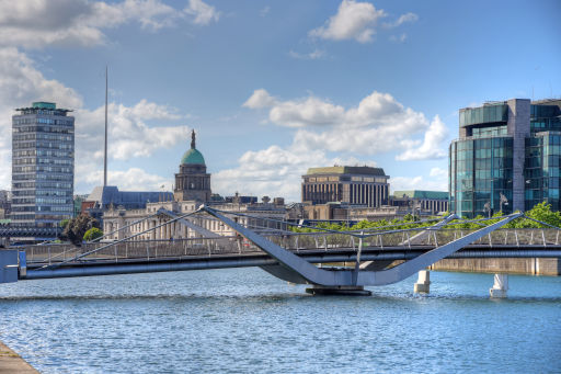 Central Dublin weekend city trip at a bargain price