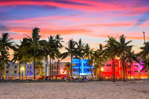 Voyage vers Miami