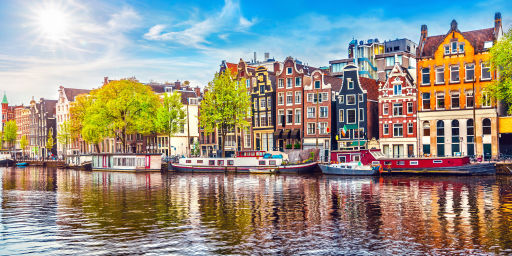 Escapada a Ámsterdam con hotel céntrico