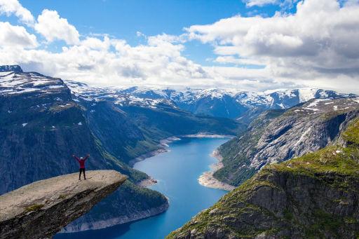 Norwegen öffnet