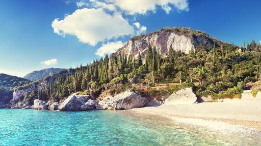 Plaże Korfu 🌞 zamiast jesiennych chłodów