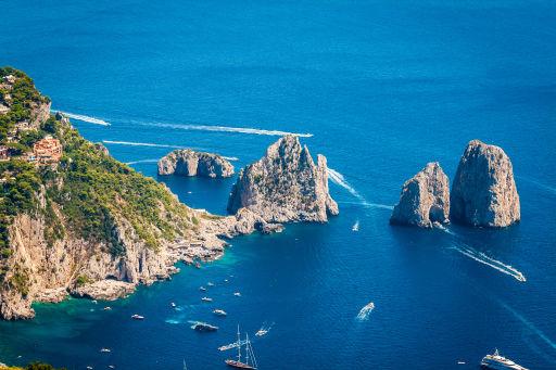 Weekend sull'isola di Capri in eccellente villa vista mare!
