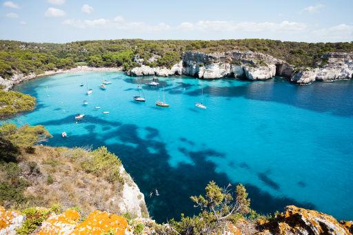 Vuelos directos a Menorca hasta octubre