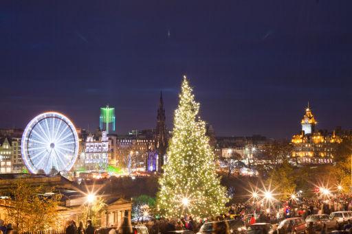 Edinburgh Christmas market break in 3⭐️ hotel with breakfast ONLY £65