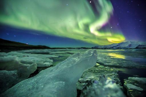 Vols A/R vers l'Islande pour les aurores boréales