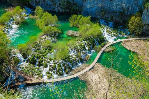 Chorwackie wakacje dla grupy/rodziny: plaże i Jeziora Plitwickie