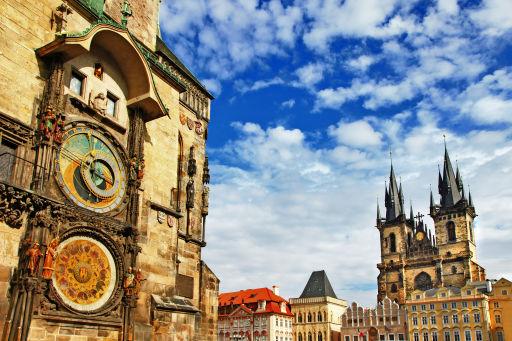 Vuelos directos a Praga