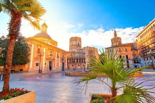 Genieten van zonnig Valencia