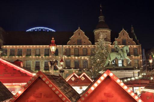 Hotelarrangement voor kerstmarkt Düsseldorf
