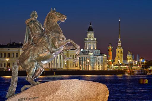 Goedkope KLM-vluchten naar Sint Petersburg