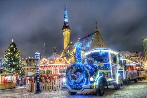 Bezoek de kerstmarkten in Tallinn