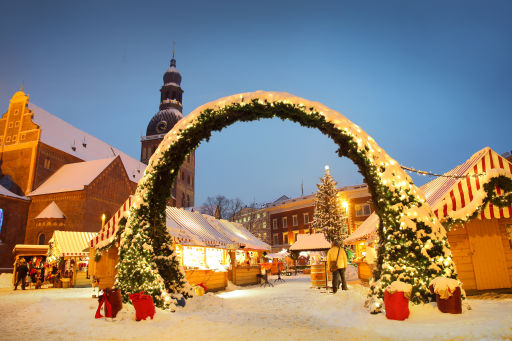 Weekend 4* a Riga per i mercatini di Natale! 🎄