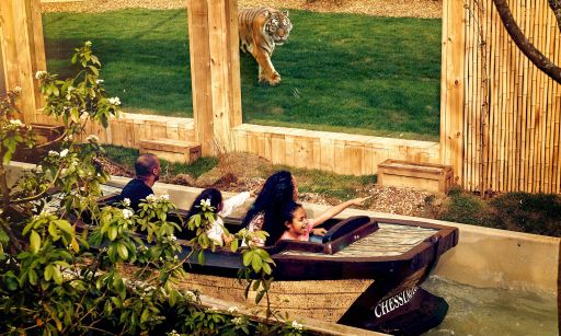 Tickets to Chessington theme park & safari from £37pp & optional hotel stay from £25 per night