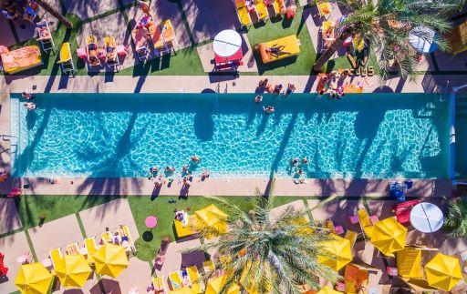 Famous Saguaro Palm Springs Hotel