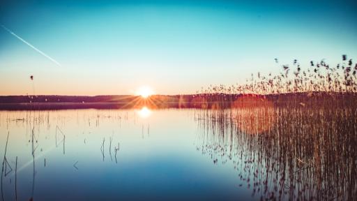 Jurte in der Mecklenburgischen Seenplatte