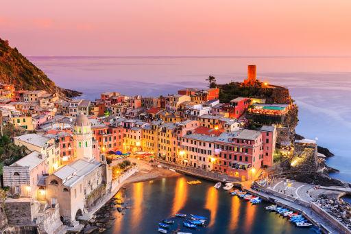 Italiens bunte Dörfer