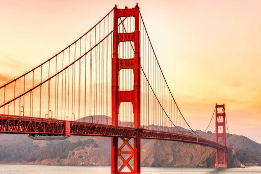 Vols A/R à petit prix vers San Francisco