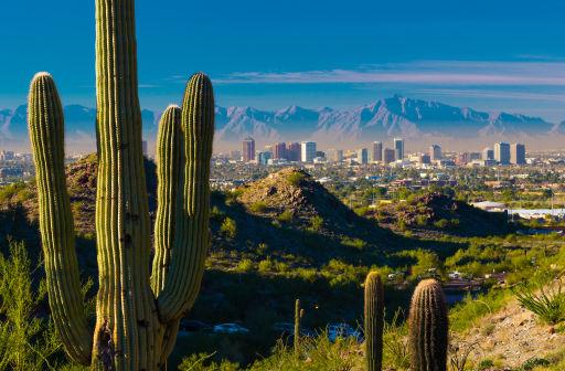 Fly to Phoenix, Arizona