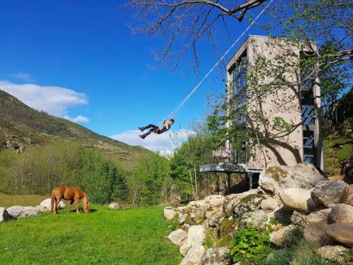Cabane de verre en pleine nature en Ardèche