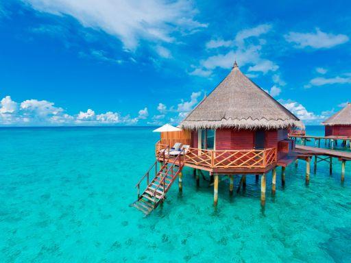 Malediven NONPLUSULTRA: Luxusurlaub im Wasserbungalow!