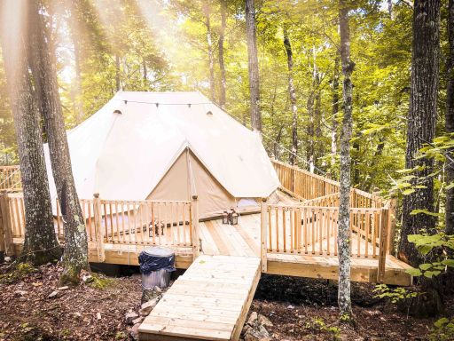 Waterfall Glamping in Tennessee