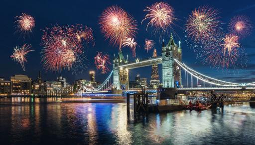 Vier Oud & Nieuw in Londen!