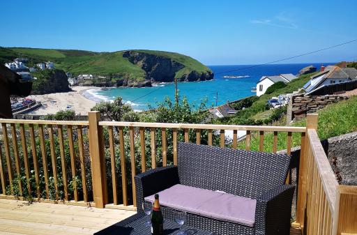 Cornwall apartment w/stunning sea views! (sleeps 4)