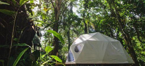 Übernachtet in der Natur Costa Ricas