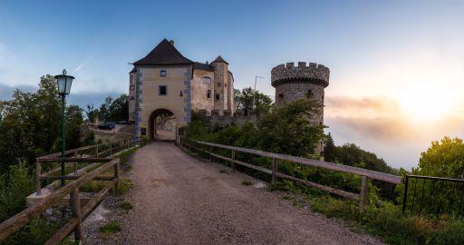 Nacht in einer Burg in Niederösterreich 🏰