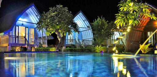 Deluxe Bungalow auf Nusa Penida (Bali) NUR 1€ p.P.