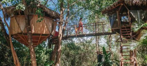 Najpiękniejsze domki na drzewach na Airbnb